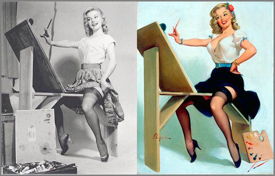 mujer real y pin ups p (3)