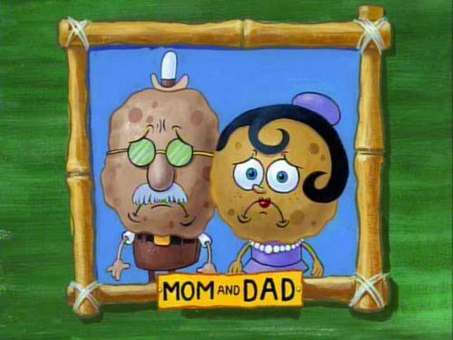 padres bob esponja