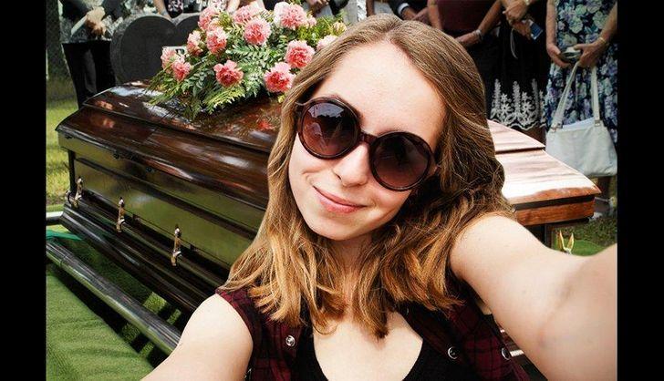 selfie muertos