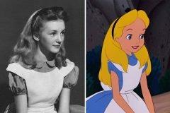 """La niña (hoy anciana) que sirvió de modelo para """"Alicia en el país de las maravi..."""