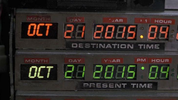 BTTF2 Date board