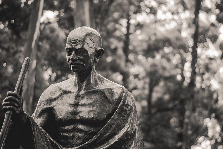Ghandi estatua