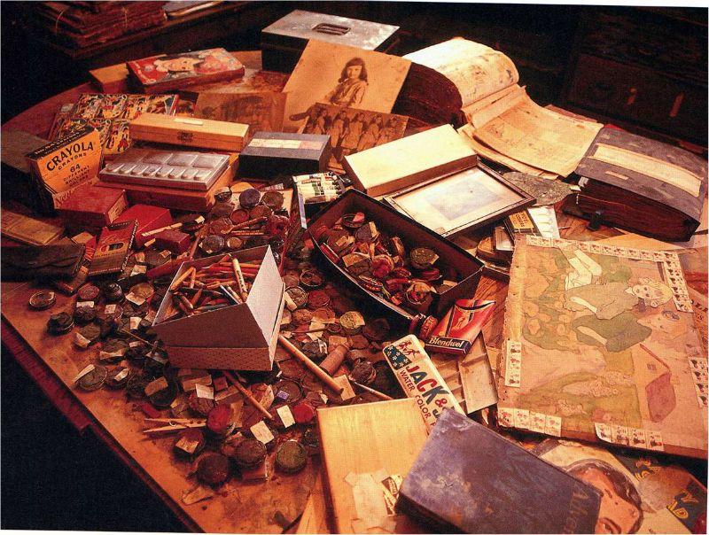 Henry Darger escritorio