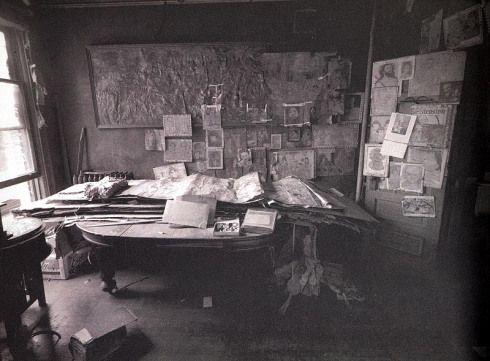 Henry Darger habitacion