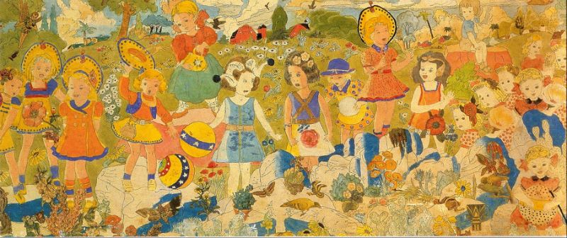 Henry Darger pinturas (7)