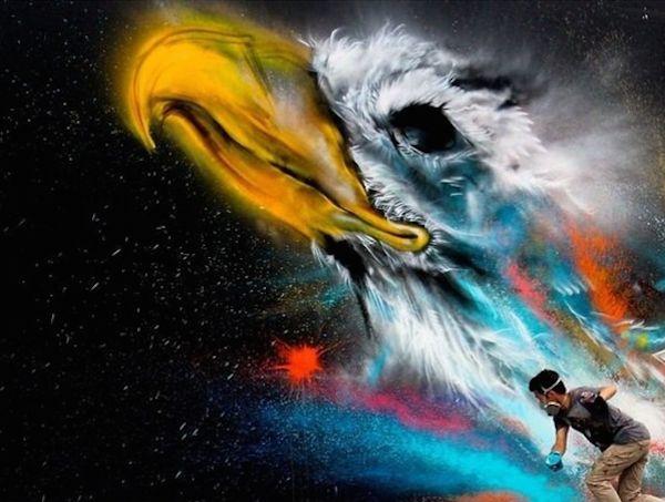 Hua Tunan pinturas murales (1)