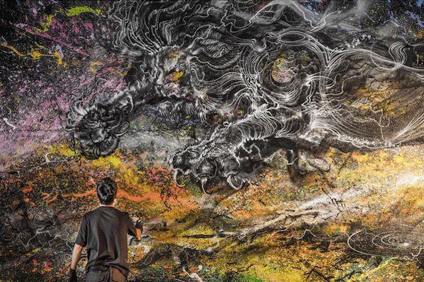 Hua Tunan pinturas murales (2)