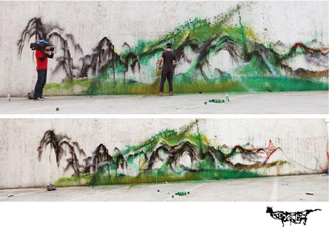 Hua Tunan pinturas murales (8)