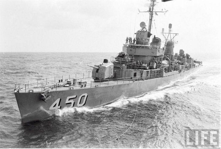 USS O'Bannon, el barco que ganó una batalla con papas