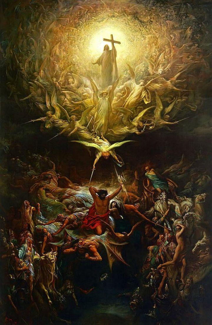 Triumph of Christianity de Gustave Doré