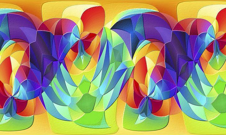 arte moderno fractal