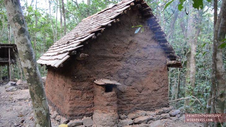 Construir una choza con tejas de barro desde cero marcianos for Casas de herramientas