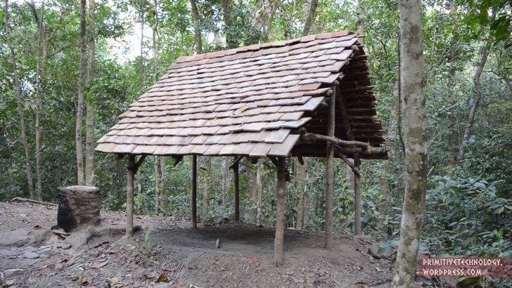 construir choza adobe (7)
