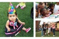 Esta mujer celebra los cumpleaños a niños desamparados