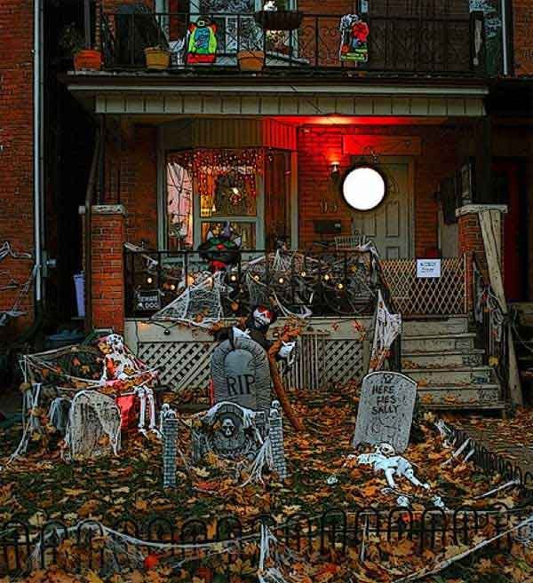 decoraciones de casa halloween (8)