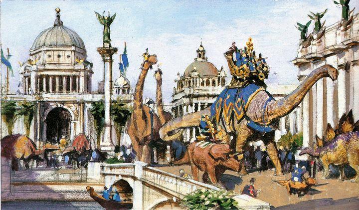 dinosaurio y humanos (6)