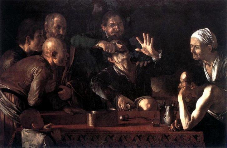 Caravaggio (Michelangelo Merisi) - óleo