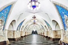 Las hermosas estaciones de Metro en Rusia