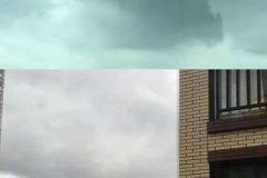"""Chinos aterrorizados por """"ciudad flotante"""" que apareció en el cielo"""
