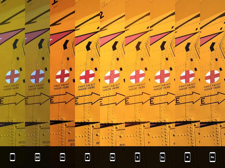 iPhone comparación camaras (5)