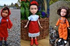 Artista transforma muñecas en réplicas de mujeres inspiradoras
