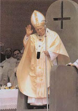 papa cruz invertida trono