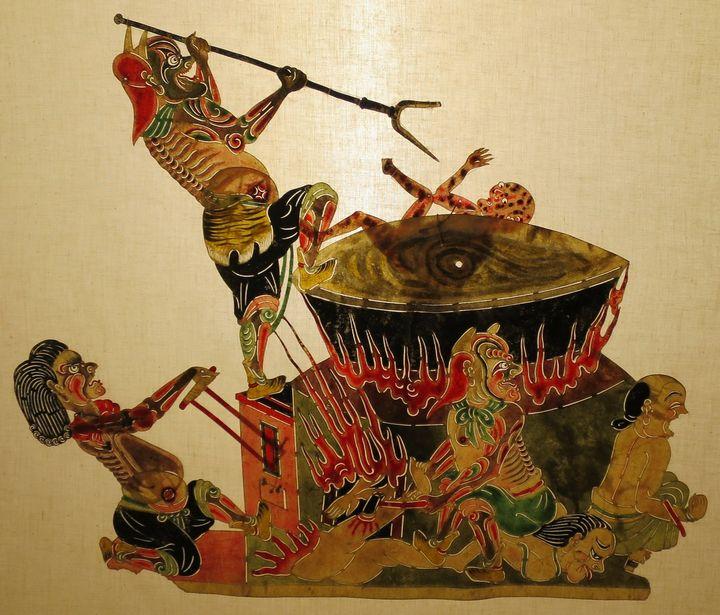 pintrua oriental infierno