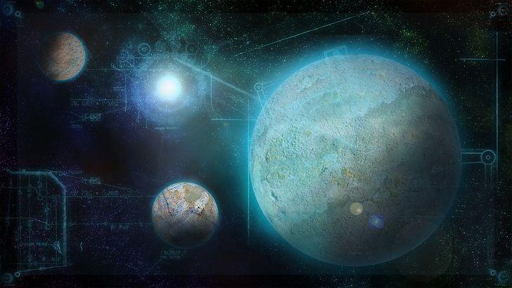 planetas y geometria