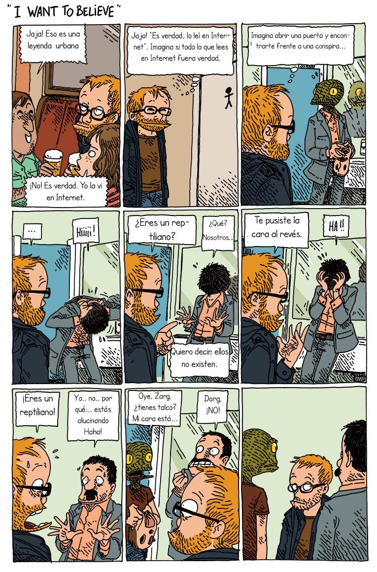 tira comica Internet 1