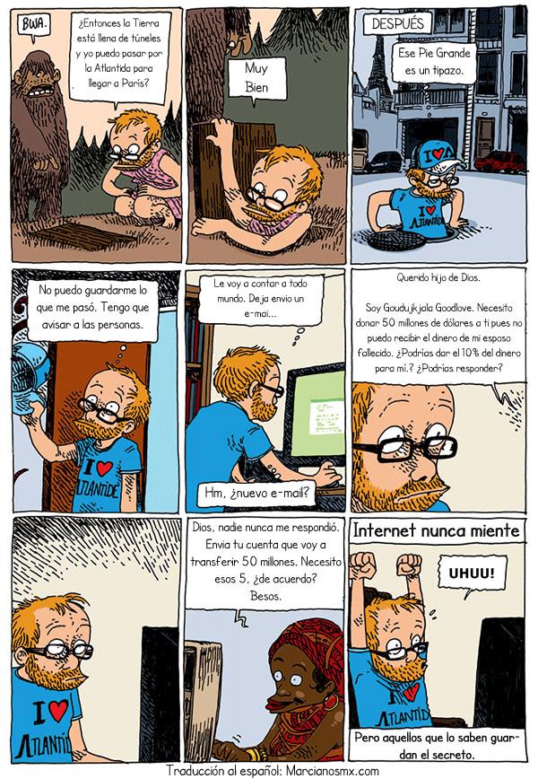 tira comica Internet 6