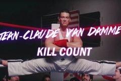 Todas, las 393 muertes, cometidas por Jean Claude van Damme