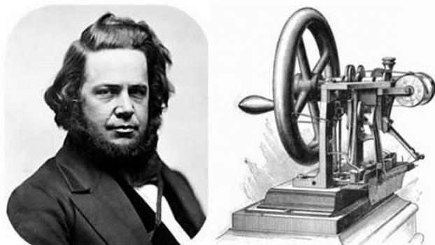 Elias Howe inventor maquina coser