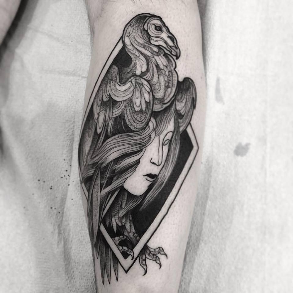 Nomi Chi tatuajes lapiz (10)