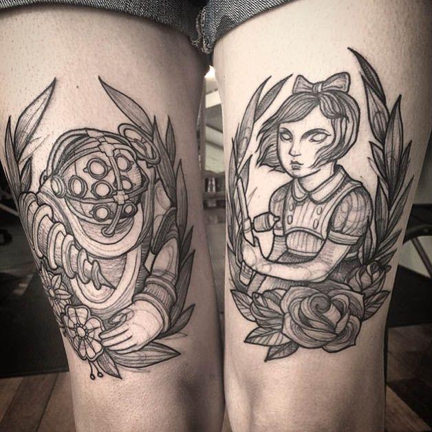 Nomi Chi tatuajes lapiz (15)