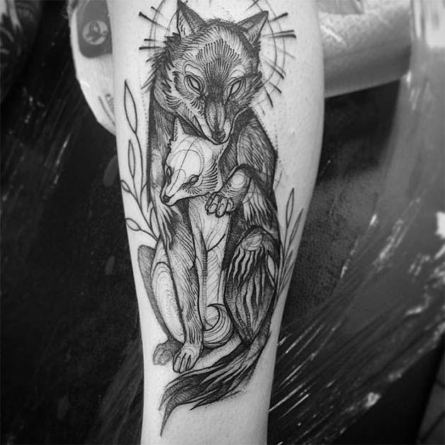 Nomi Chi tatuajes lapiz (16)