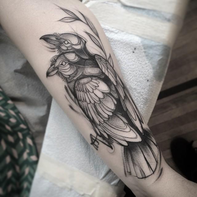 Nomi Chi tatuajes lapiz (3)