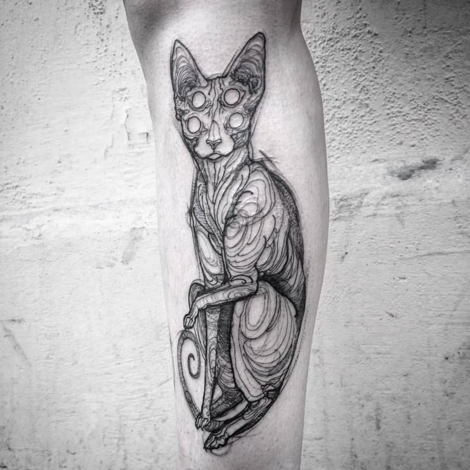 Nomi Chi tatuajes lapiz (4)