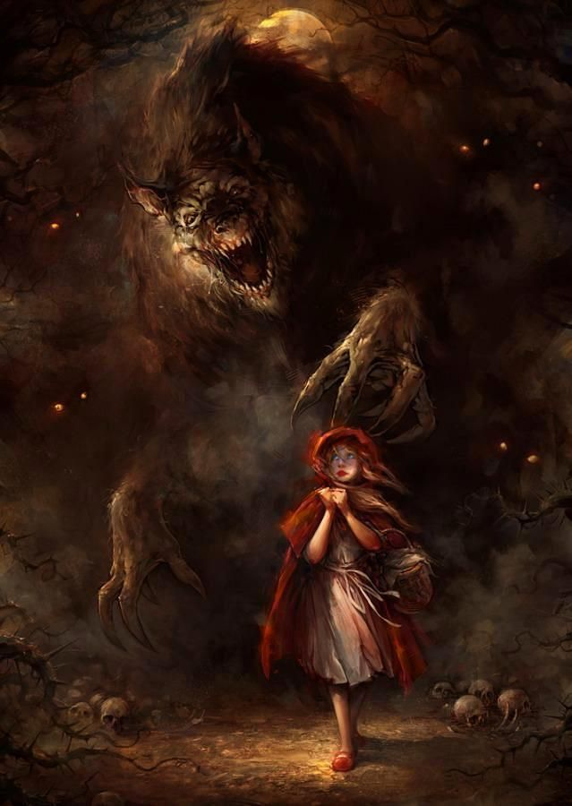 caperucita roja imagen terror