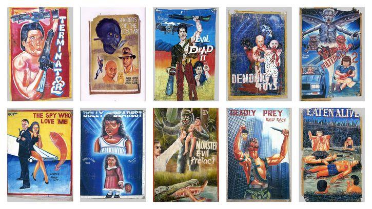 carteles pelicula ghana portada
