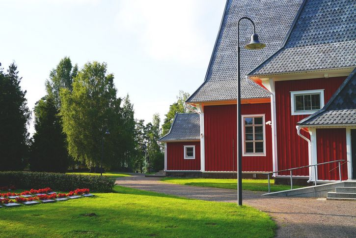 finlandia iglesia