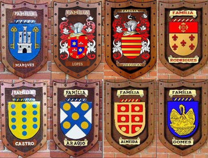 heraldica y apellidos escudos
