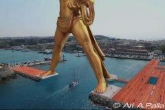 Nuevo coloso de Rodas, megalomanía en la Grecia poscrisis