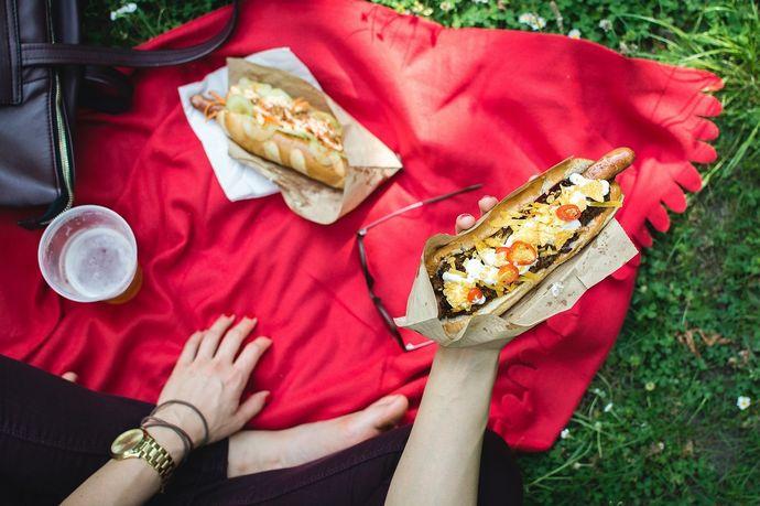 picnic perro caliente