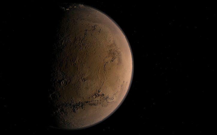 Fin del Misterio: El Sol destruyó la atmósfera de Marte