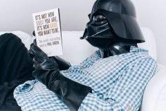 Un día normal con Darth Vader