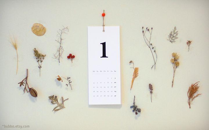 calendario primero enero