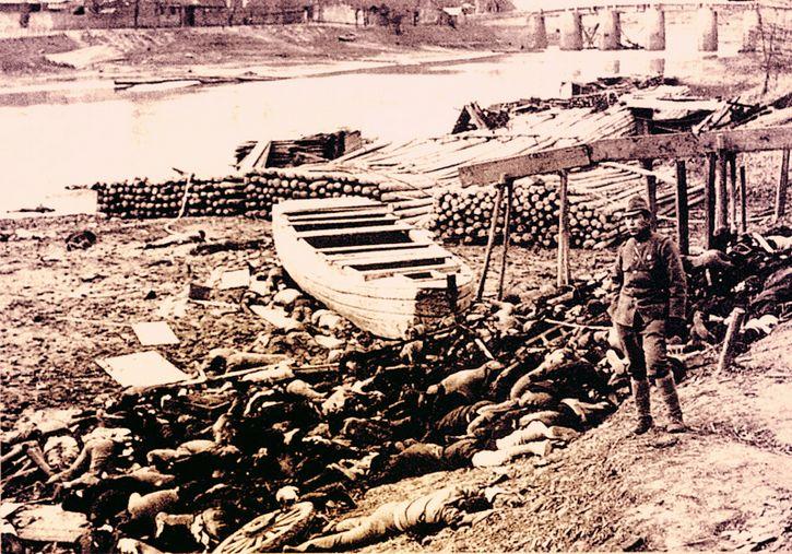 cuerpos sobre el rio yangtse