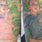 Madre de adolescente transgénero adapta tatuaje a la realidad de su hijo