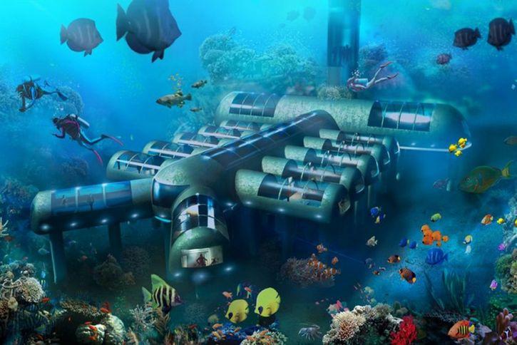 hotel submarino Planet Ocean Underwater Hotel