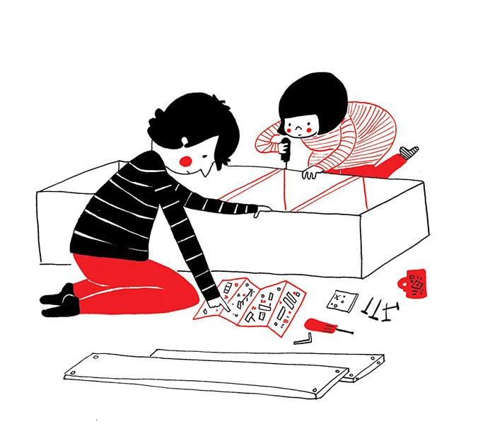 ilustraciones pareja felicidad (12)